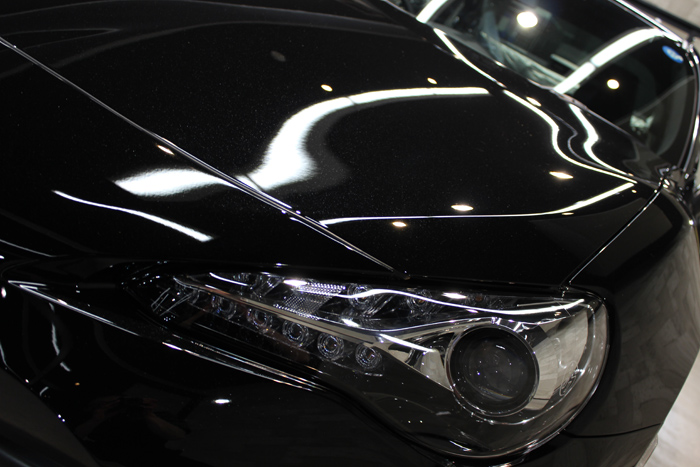 トヨタ 86 クリスタルブラックシリカ ヘッドライト