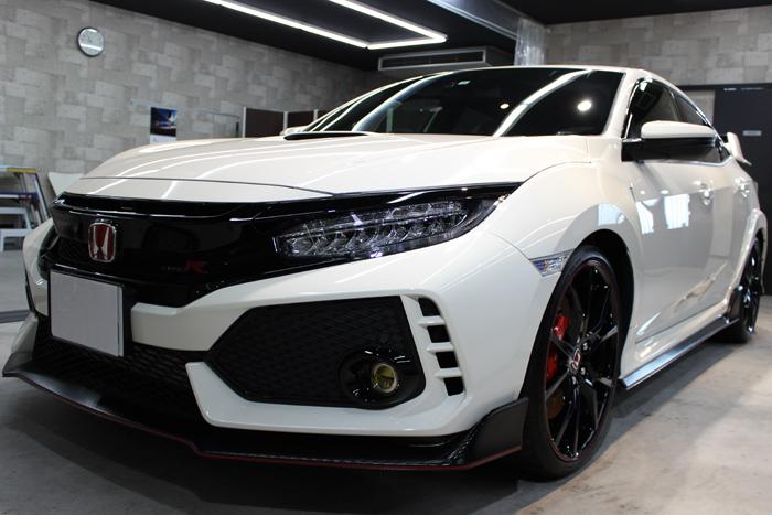 ホンダ シビック タイプR チャンピオンシップホワイト フロントバンパー