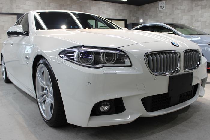 BMW 535i Mスポーツ アルピンホワイト キドニーグリル