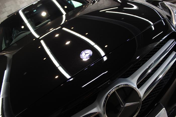 メルセデスベンツ C200 オプシディアンブラック ボンネット