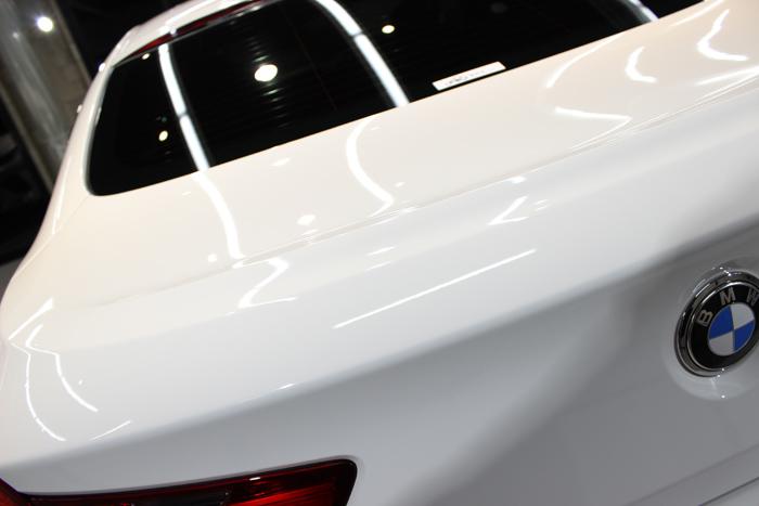 BMW 640iグランクーペ アルピンホワイト トランク
