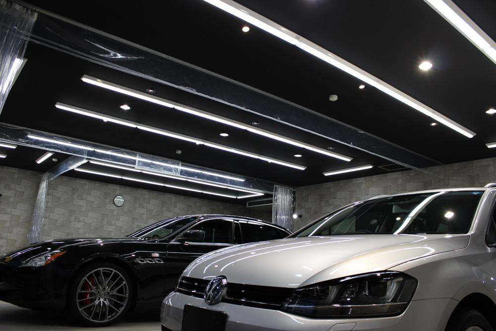 リボルト郡山:店舗内の作業用照明全てを高輝度LED照明化