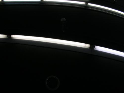 蛍光灯だけの状態