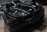 いわき市I様BMW650i正面上1