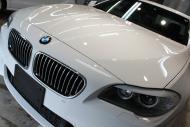 福島県福島市O様BMW523IMsportボンネット左