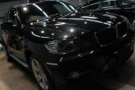 福島県福島市K様BMWX6右前全体