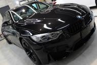 BMWM4ブラックサファイア右上